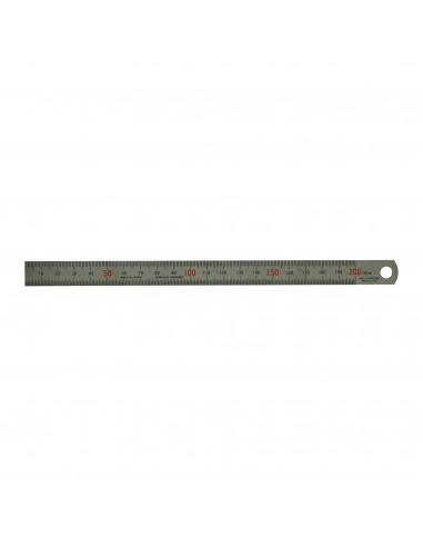 """Precision steel rule ,200 mm,8"""",two..."""