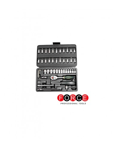 46PC 1/4 SOCKET SET FORCE