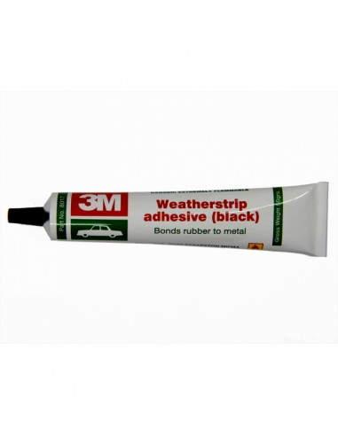 3M 8017 adhesive rubber Black 50gr