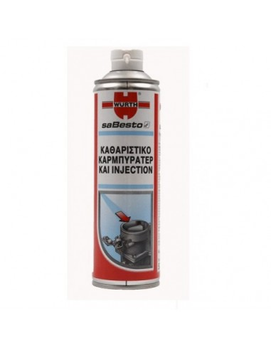CARBURETOR & INJECTOR CLEANER WURTH...