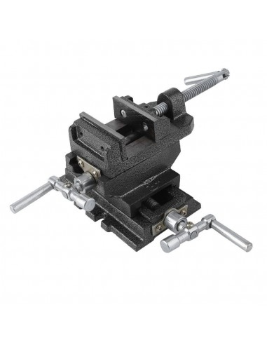 2-way cross slide vise ,support