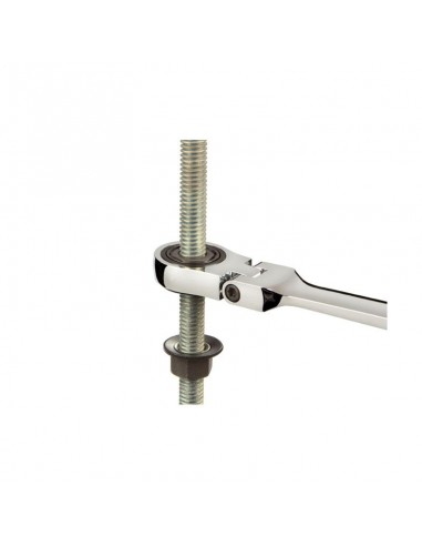 17 mm ratcet wrench flexible head