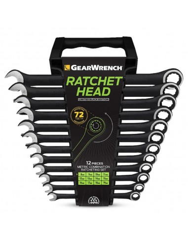 12 pcs Gearwrench ratchet head...