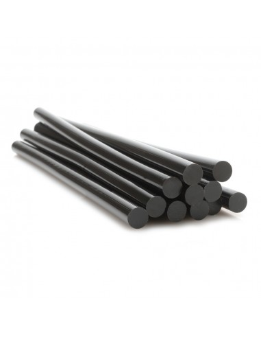 11 mm black Hot - glue sticks