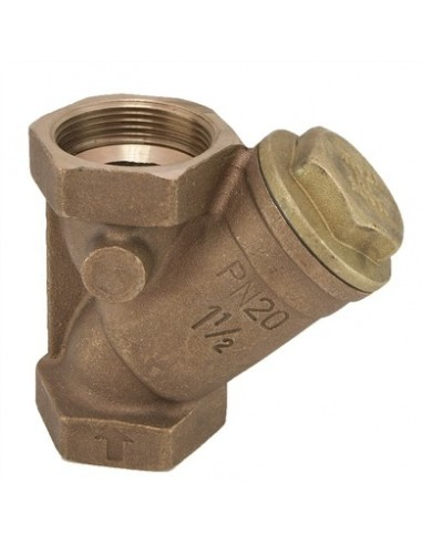 """2"""" brass Y filter with stainless stel..."""