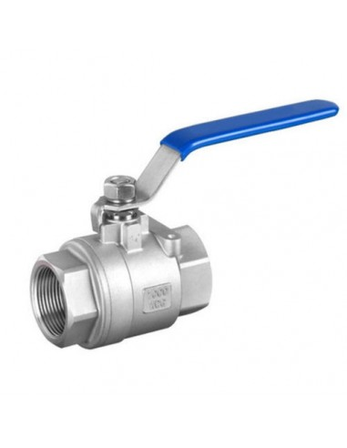 11/4 Stainless steel ball valve,two...