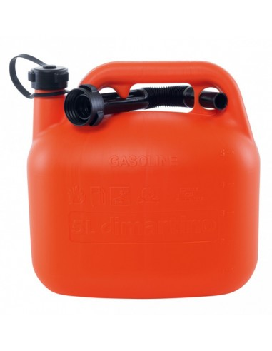 5 lt plastic fuel tank with nozzle