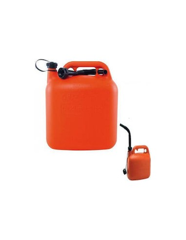 10 lt plastic fuel tank with nozzle