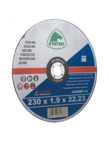 Cutting disc 230 x 1.9 mm inox