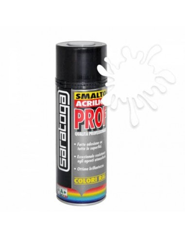 Spray color paint white glossy ral 9010