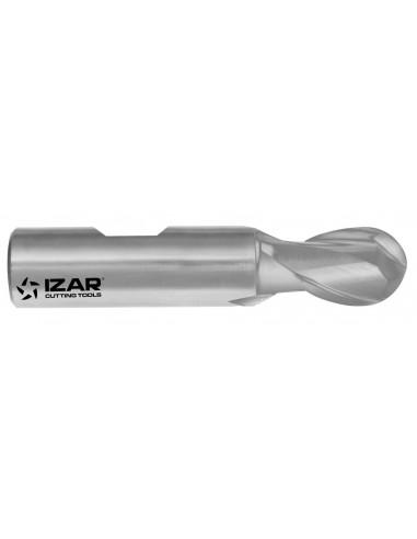 End mill radial 2 flutes din 327 8%...